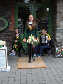 Irish Dancers at the Blarney Woolen MIlls