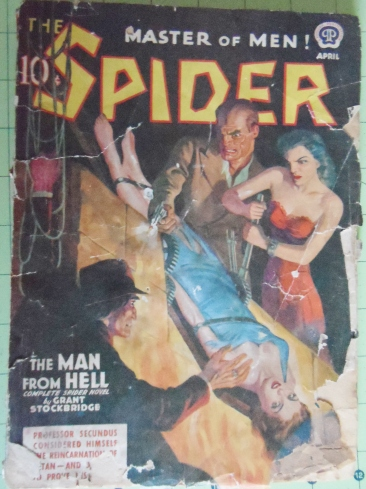 Today The Spider is out there in a dozen different forms.