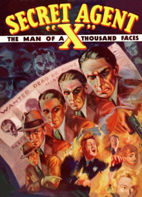 other-pulp-covers-vintage-re-mastered-gallery-wrap-canvas-giclee-reproduction-secret-agent-x-sf69-manofathousandfaces-2