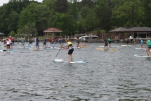 Recreational Paddlers Underway In Paddle for Purpose