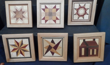 Wood Quilt Blocks
