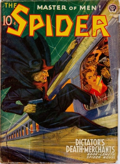 Pulps feature impossible action.