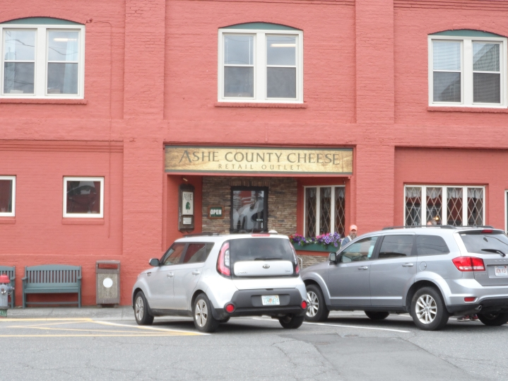 Ashe County Cheese Retail Outlet Main Entrance