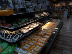 Ashe County Cheese Retail Outlet Cooler with Cheese