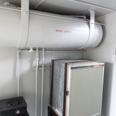 Norfolk & Western Caboose Water Tank & Refrigerator