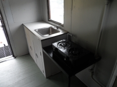 Norfolk & Western Caboose Sink and Stove