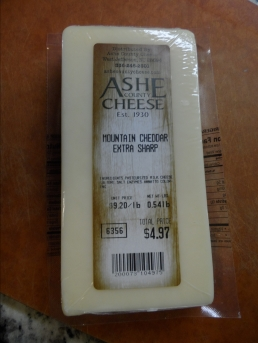 Ashe County - Mountain Cheddar/Extra Sharp