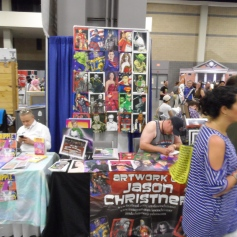 Heroes Con - Charlotte NC 2018 Artist Booth