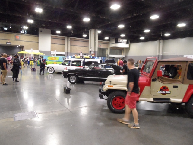 Heroes Con - Charlotte NC 2018 Celebrity Cars