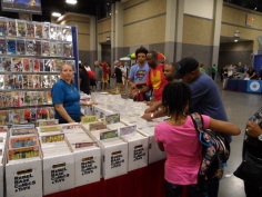 Heroes Con - Charlotte NC 2018 Sellers Booth Display