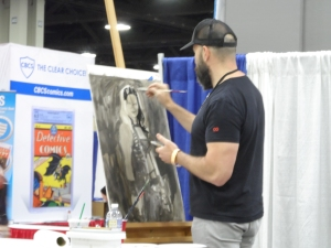 Heroes Con - Charlotte NC 2018 Artist in Action