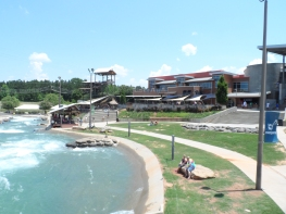 US Whitewater Center - building
