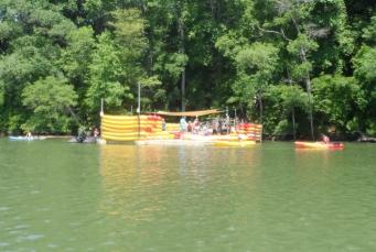 Kayaking the Catawba - Main Dock