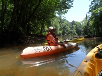 Kayaking the Catawba - Into the Unknown
