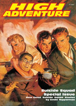 Suicide Squad - High Adventure - Book