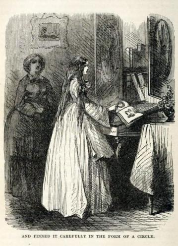 woman in white - illustration 3