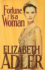fortune is a woman book cover gold facing left