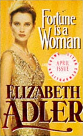 fortune is a woman book cover gold facing right