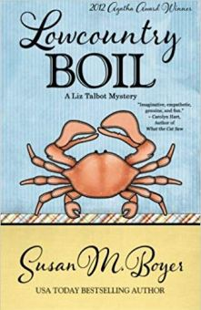 Lowcountry Boil Book Cover - Boyer