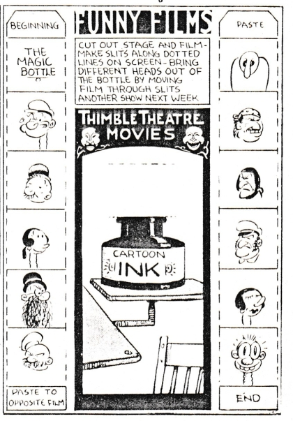 Funny Films - Thimble Theatre Movies