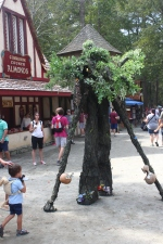 Carolina Renaissance Festival - Tree Man