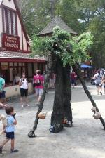 Carolina Renaissance Festival - Tree Man