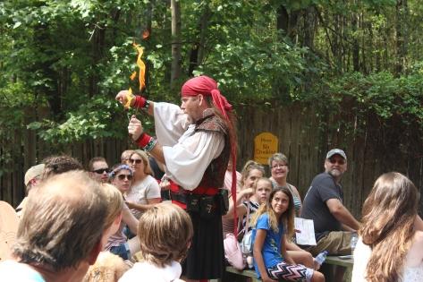 Carolina Renaissance Festival - Fire Eater