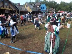 Carolina Renaissance Festival - Dancing