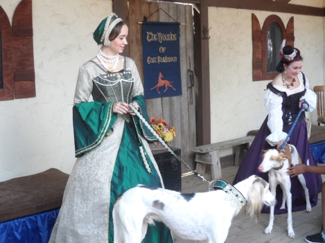 Carolina Renaissance Festival - Royal Hounds