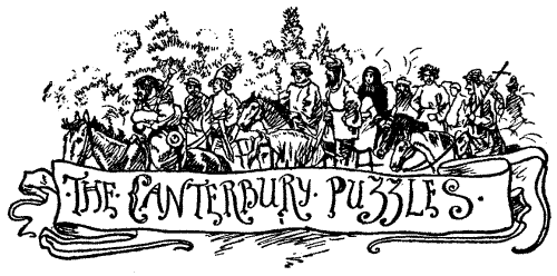 the Canterbury Puzzles graphic