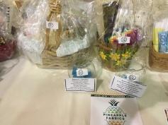 Raffle Baskets from Pineapple Fabrics