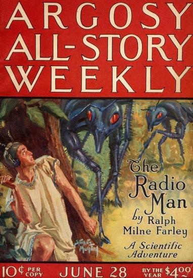 The Radio Man Pulp Cover 2