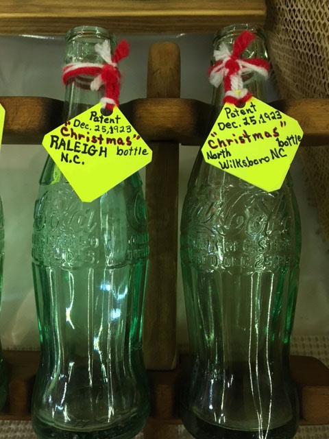 Coke Christmas Bottles