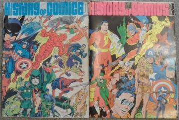History of Comics - Volumes 1 & 2