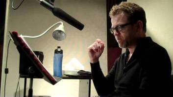 Scott brick - In Studio