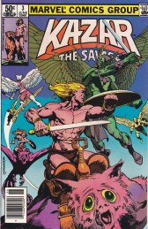 Karar The Savage Comic Book