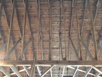 Rustic Beams- The Studio