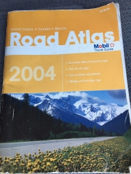 2004 Road Atlas Book Cover