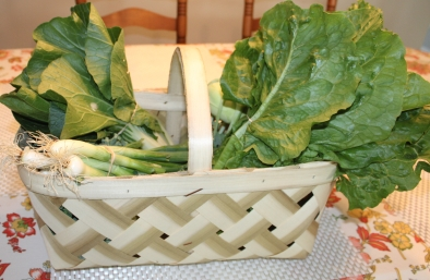 Week One Petite Basket - Red Barn Market - Correll Farms Rowan County NC