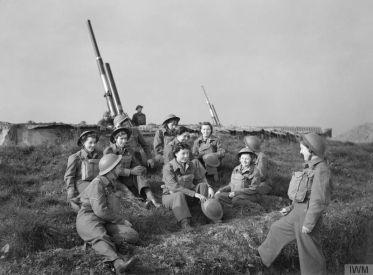 Women's Gunners WW2
