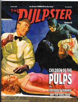 The Pulpster 2019 Cover - Children of the Pulps