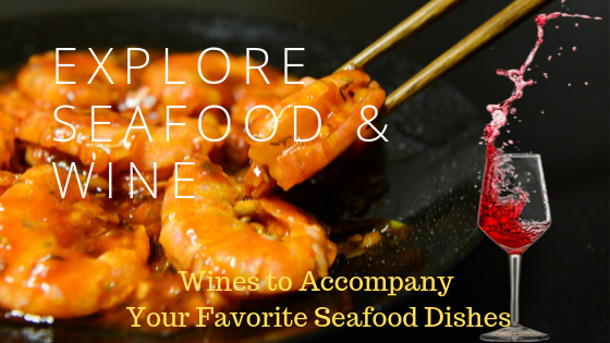 Explore Seafood & Wine Blog Banner