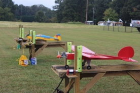 RC Planes ready for flight