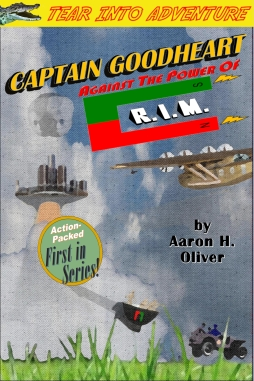 Captain Goodheart Book Cover - Power of R.I.M.