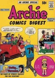 Archie Comics Digest Cover