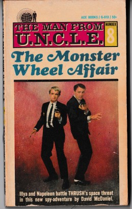 The Monster Wheel Affair Paperback Book Cover