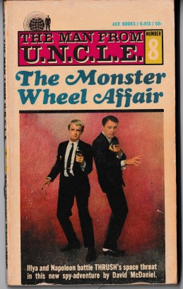 The Monster Wheel Affair Paperback Book Cover