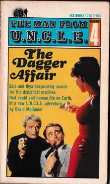 The Dagger Affair - Paperback Book Cover