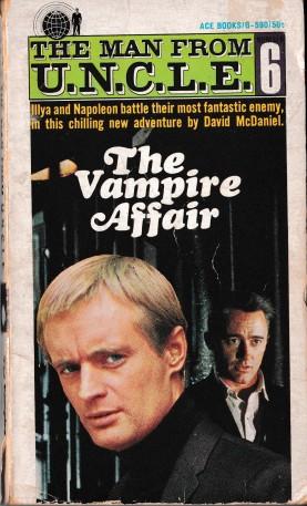 The Vampire Affair Paperback Book Cover