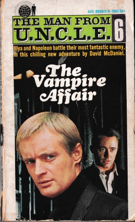 The Vampire Affair Paperback Book Cover